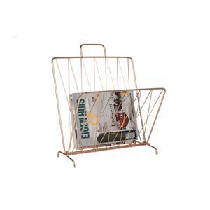 Present Time Magazin tartó, sárgaréz