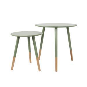 Leitmotiv Dzsungel zöld asztal szett