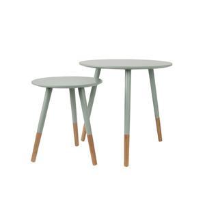 Leitmotiv Szürke asztal szett