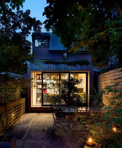 Hangulatos terasz világítással - erkély / terasz ötlet, modern stílusban