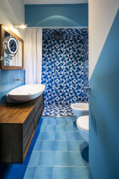 Kék fürdőszoba // HOMEINFO.hu - Inspirációtár