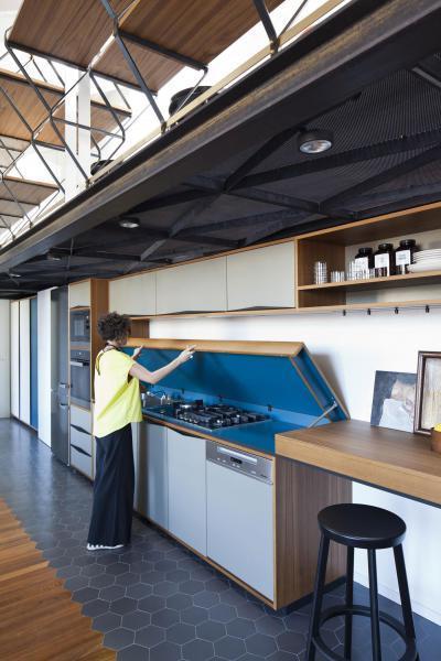 Konyhapult alá rejtett konyhagépek - konyha / étkező ötlet, modern stílusban