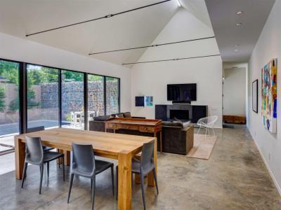 Különleges belső tér - nappali ötlet, modern stílusban
