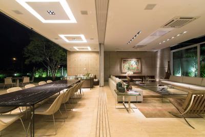 Nappali folytatása a teraszon - nappali ötlet, modern stílusban