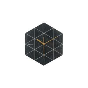 Karlsson Hexagon falióra, fekete