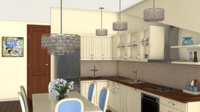 Különleges függesztékek a konyhában és az étkezőben - konyha / étkező ötlet, modern stílusban