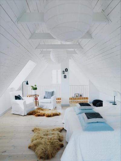 Tetőterek10 - tetőtér ötlet, modern stílusban