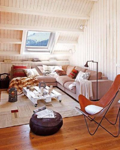 Tetőterek22 - tetőtér ötlet, modern stílusban