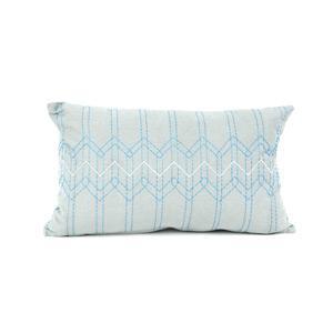 Díszpárnahuzat, stitch, kék,50x30 - erkély / terasz ötlet, modern stílusban