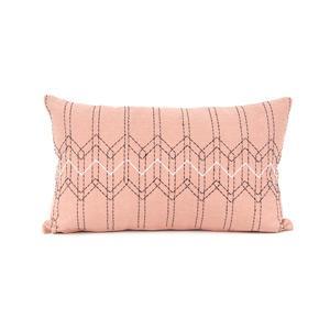 Present Time Díszpárnahuzat, stitch, pasztell rózsaszín, 50x30