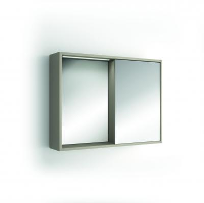 Portobello tükrös faliszekrény - fürdő / WC ötlet, modern stílusban