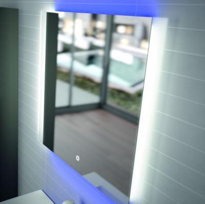 Fürdőszoba tükör lámpával - fürdő / WC ötlet, modern stílusban