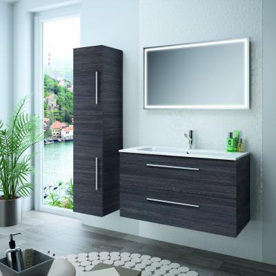 Salgar Fussion fürdőszoba bútor grafit színben - fürdő / WC ötlet, modern stílusban