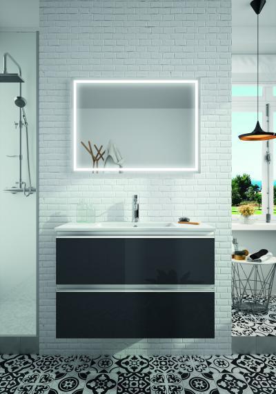 Salgar Spirit fürdőszoba bútor fényes fronttal - fürdő / WC ötlet, modern stílusban