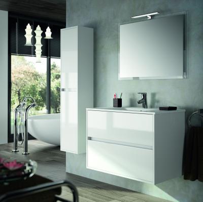 Salgar Noja fürdőszoba bútor fehér - fürdő / WC ötlet, modern stílusban
