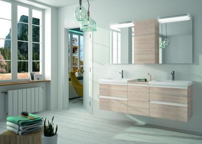 Salgar Spirit fürdőszoba bútor natúr színben - fürdő / WC ötlet, modern stílusban