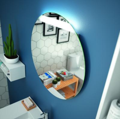 Falitükör beépített lámpával - fürdő / WC ötlet, modern stílusban