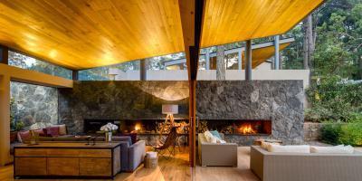 Veranda és terasz összenyitve - erkély / terasz ötlet, modern stílusban