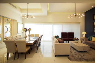 Elegáns nappali hidegburkolattal - nappali ötlet, modern stílusban