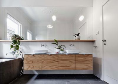 Lebegő fürdőszobabútor - fürdő / WC ötlet, modern stílusban