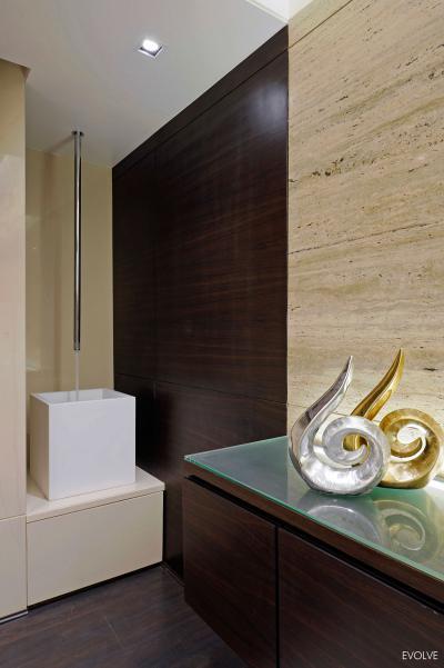 Tiszta design a fürdőben - fürdő / WC ötlet, modern stílusban