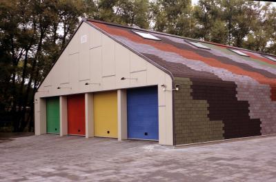 Premium Téglány bazaltzúzalékos tetőzsindely3 - tető ötlet, modern stílusban