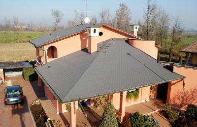 Premium Hódfarkú kőzúzalékos tetőzsindely2 - tető ötlet, modern stílusban