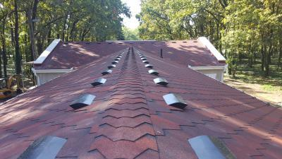 Premium Mosaik kőzúzalékos tetőzsindely - tető ötlet, modern stílusban