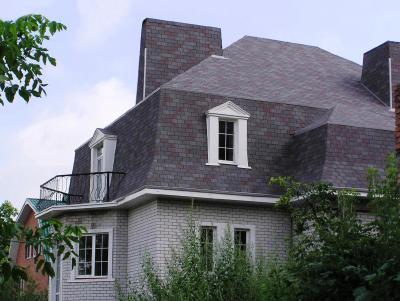 Premium Téglány bazaltzúzalékos tetőzsindely - tető ötlet, modern stílusban