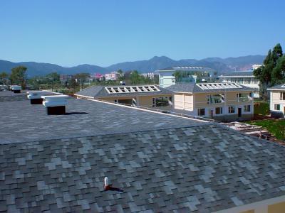 Premium Gothik kőzúzalékos tetőzsindely - tető ötlet, modern stílusban