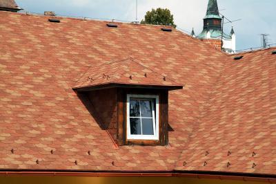Premium Liberty kőzúzalékos zsindely - tető ötlet, modern stílusban