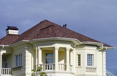 Premium Gothik kőzúzalékos tetőzsindely - tető ötlet, klasszikus stílusban