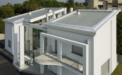 Prestige fémborítású zsindelytető - tető ötlet, modern stílusban
