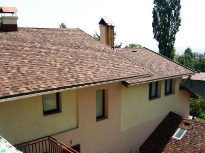 Master kőzúzalékos tetőzsindely - tető ötlet, modern stílusban