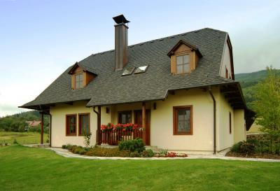 Master kőzúzalékos tetőzsindely - tető ötlet, rusztikus stílusban