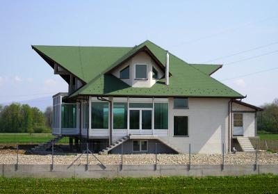 Premium Hódfarkú kőzúzalékos tetőzsindely - tető ötlet, modern stílusban