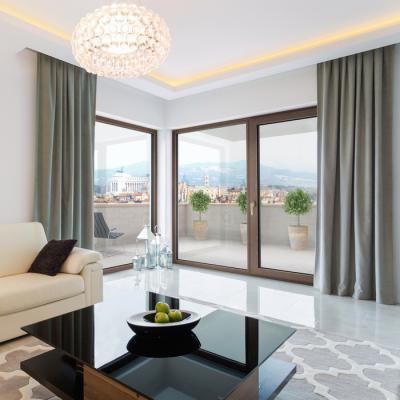 Nagyméretű ablakok a nappaliban // HOMEINFO.hu - Inspirációtár