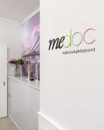 Enteriőr részlet a MeDoc klinikán - belső továbbiak ötlet, modern stílusban
