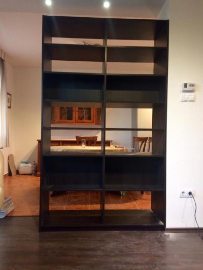 Tiroli Csokoládé bükk színű, laminált bútorlapos könyvespolc - belső továbbiak ötlet, modern stílusban