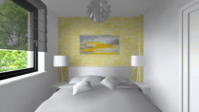 Világos hálószoba - háló ötlet, modern stílusban