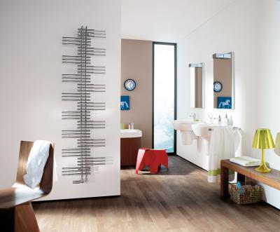 Zehnder Yucca Króm melegvizes üzemmód - fürdő / WC ötlet, modern stílusban