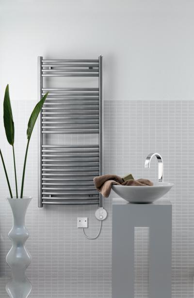 Zehnder Janda Króm elektromos üzemmód - fürdő / WC ötlet, modern stílusban