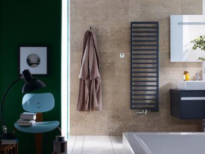 Zehnder Quaro Volcano vegyes üzemmód - fürdő / WC ötlet, modern stílusban