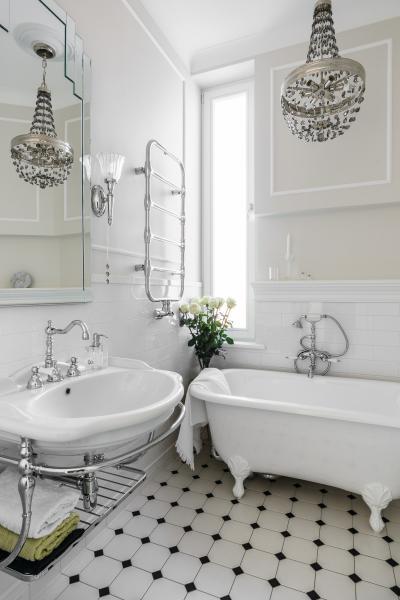 Zehnder Nobis Króm melegvizes üzemmód - fürdő / WC ötlet, klasszikus stílusban
