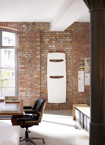 Zehnder Vitalo Spa White Quartz melegvizes üzemmód - dolgozószoba ötlet, modern stílusban