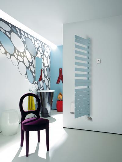 Zehnder Roda Twist Spa Air Horizon Blue balos elektromos üzemmód - fürdő / WC ötlet, modern stílusban