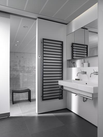 Zehnder Subway Volcanic elektromos kivitel - fürdő / WC ötlet, modern stílusban