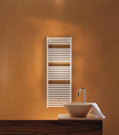 Zehnder Toga Traffic White elektromos üzemmód - fürdő / WC ötlet, modern stílusban
