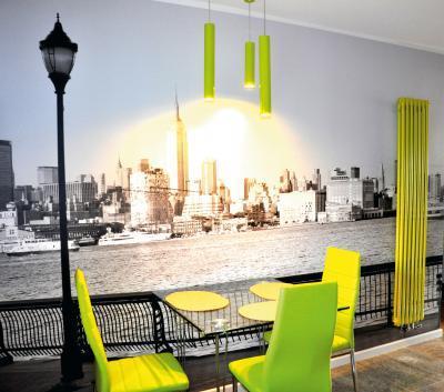 Zehnder Charleston szobai acél tagos csőradiátor - konyha / étkező ötlet, modern stílusban
