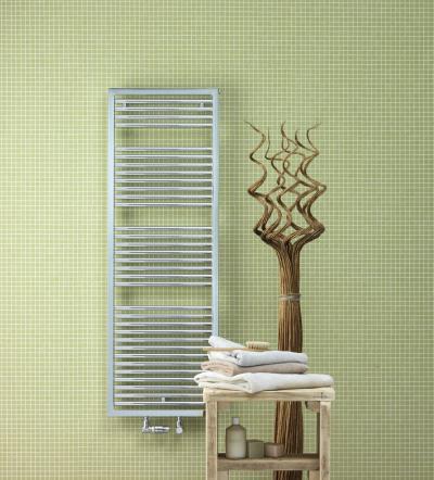 Zehnder Universal Króm melegvizes kivitel - fürdő / WC ötlet, modern stílusban
